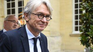 Le secrétaire général de Force ouvrière (FO), Jean-Claude Mailly, le 25 juillet 2017 à Paris. (BERTRAND GUAY / AFP)