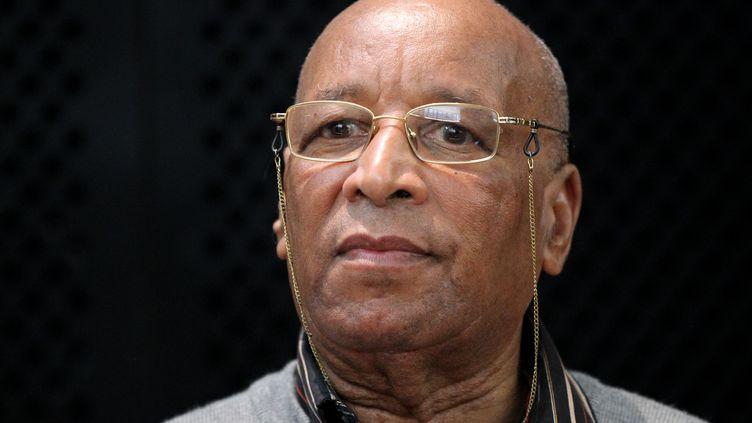 Mohamed Jratlou, le père du petit Younes, au deuxième jour de son procès à Mons (Belgique), le 7 juin 2012. Il a été condamné pour homicide involontaire le 15 juin 2012. (VIRGINIE LEFOUR / BELGA / AFP)