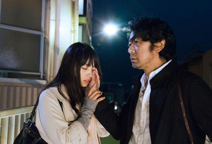 "Masatoshi Nagase, Ayame Misaki dans ""Vers la lumière"" de Naomi Kawase  (Haut et Court)"