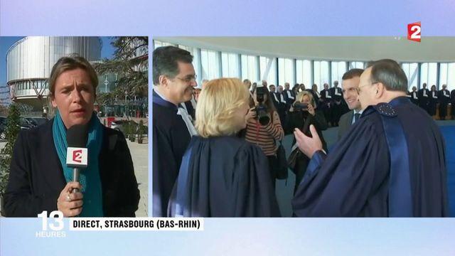 Loi antiterrorisme : Emmanuel Macron devant la Cour européenne des droits de l'Homme