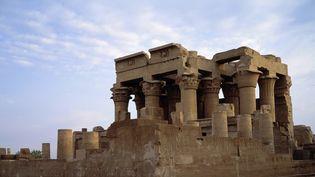 Architecture de l'antiquité : le temple de Kom Ombo, Egypte.  (PHOTO JOSSE / LEEMAGE)