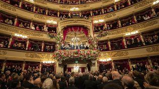 La Scala de Milan le 7 cécembre 2019, jour de l'ouverture de la saison par le président Mattarella (HANDOUT / QUIRINALE PRESS OFFICE)