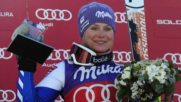 La Française Tessa Worley veut à nouveau goûter au podium