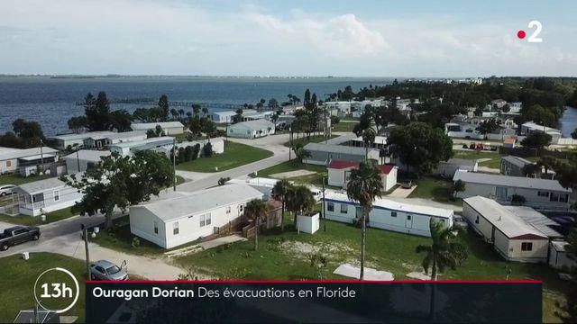 Ouragan Dorian : des évacuations en cours en Floride