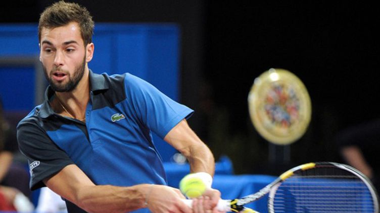 Benoit Paire n'ira pas au second tour du tournoi de Marseille (SYLVAIN THOMAS / AFP)
