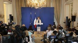 La ministre du Travail Muriel Pénicaud à Paris le 28 juin 2017. (GEOFFROY VAN DER HASSELT / AFP)