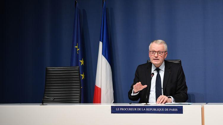 Rémy Heitz, procureur de la République de Paris, le 29 novembre 2020. (ALAIN JOCARD / AFP)