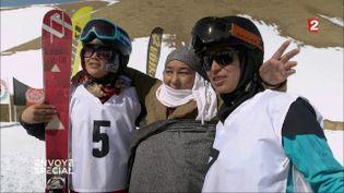 Ski club (CAPTURE D'ÉCRAN FRANCE 2)