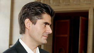Laurent Beccaria, patron de la maison d'édition Les Arènes (ici en 2003).  (Jacques Guez / AFP)