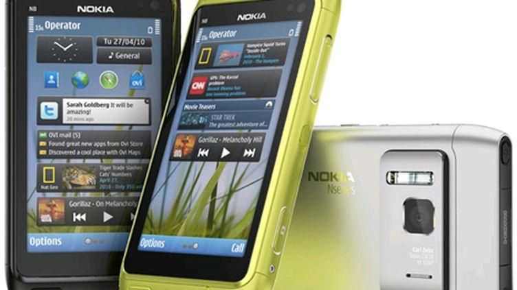 Le système Symbian du finlandais n'a pas convaincu, face au système d'Apple ou à l'Android de Google (Nokia)