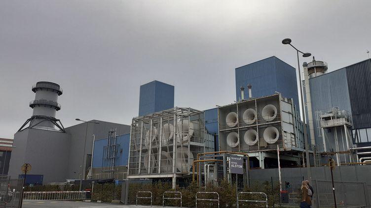 Le site turbines à gaz de General Electric à Belfort. (MÉLANIE JUVÉ / RADIOFRANCE)