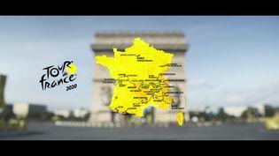 Le parcours du Tour de France 2020. (ASO)