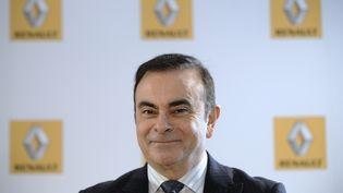 Le PDG de Renault, Carlos Ghosn, lors d'une réunion avec des syndicats au siège de Renault, à Boulogne-Billancourt (Hauts-de-Seine), le 13 mars 2013. (LIONEL BONAVENTURE / AFP)