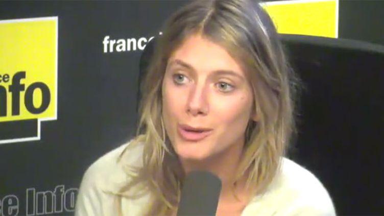 """(Mélanie Laurent et Cyril Dion présentent leur documentaire """"Demain"""" © Radio France)"""