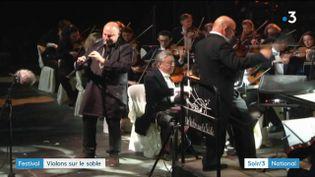 Yom au festival Un Violon dans le Sable (France 3)