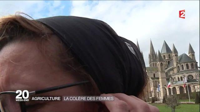 Agriculture : la colère des femmes