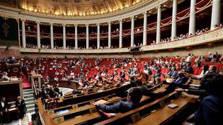 Les députés se sont finalement entendus, samedi 21 juillet, pour entendre lundi GérardCollomb, le ministre de l'Intérieur, dans le cadre de l'affaire Benalla. (THOMAS SAMSON / AFP)