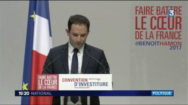 Présidentielle 2017 : Benoît Hamon investi par le PS