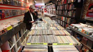 Chez Croq'Vinyl, disquaire de Toulouse  ( FRED SCHEIBER/20 MINUTES/SIPA)
