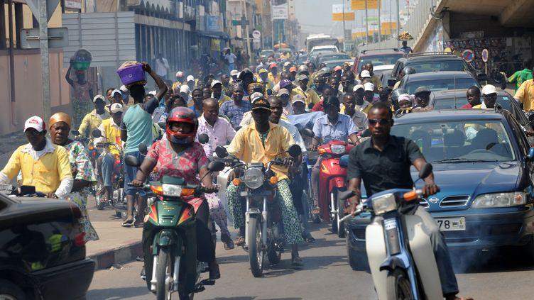Cotonou, capitale du Bénin, le 18 novembre 2011. (PIUS UTOMI EKPEI / AFP)