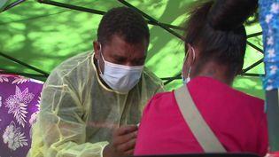 En Nouvelle-Calédonie, le pic épidémique n'est pas encore atteint, mais l'île fait face à une augmentation de contaminations au Covid-19. (CAPTURE ECRAN FRANCE 3)