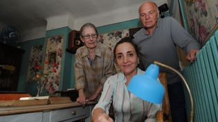 Dominique Blanc visite la fondation Alexandra David-Néel de Digne-les-Bains  (PHOTOPQR/LA PROVENCE/CAMOIN Eric)