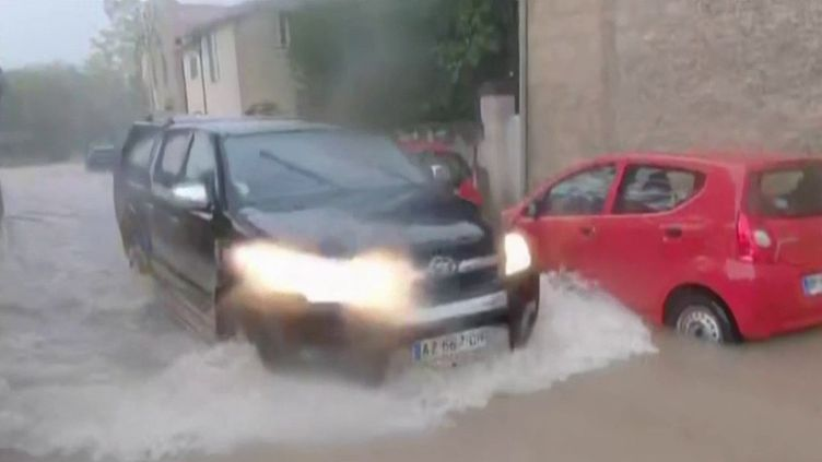 Gard : alerte rouge aux orages, pluies et inondations (France 3)