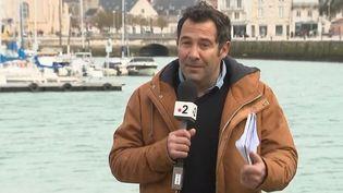"""L'inquiétude est maximale sur les côtes françaises. La nappe d'hydrocarbure issue du """"Grande America"""" pourrait toucher le littoral dimanche 17 mars. (FRANCE 2)"""