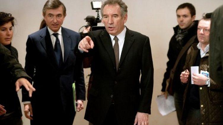 François Bayrou (mars 2012) (MARTIN BUREAU / AFP)