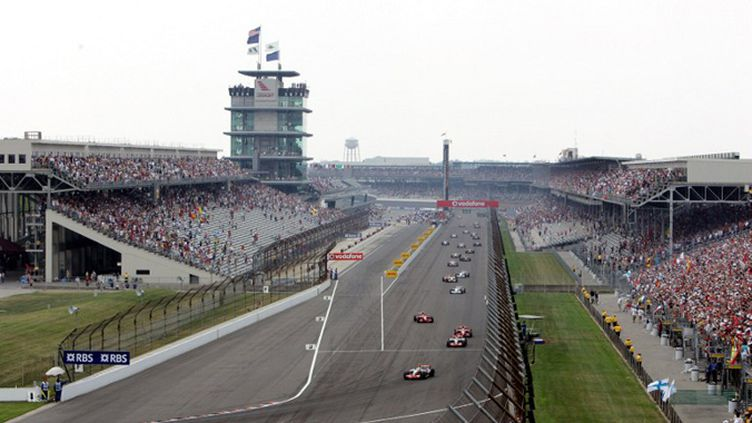 Le Grand Prix des USA dans la légende d'Indianapolis (2007) (DON EMMERT / AFP)