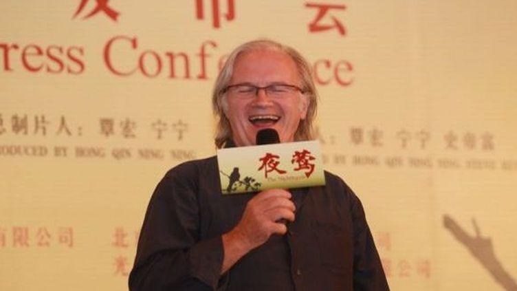 Philippe Muyl lors d'une conférence de presse le 11 septembre 2012  (Lin hui bj / Imaginechina)