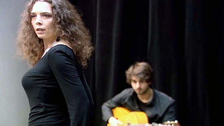 Le Duo Minera en répétitions  (capture d'écran France 3 / Culturebox)