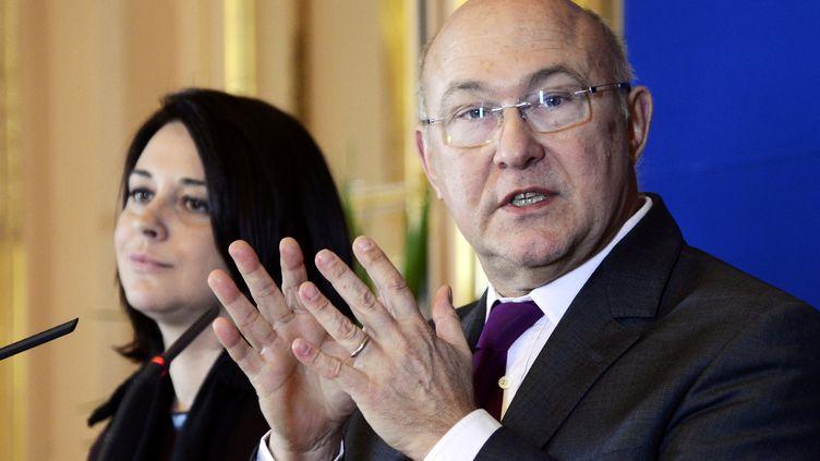 Michel Sapin, le 12 décembre 2012. (BERTRAND GUAY / AFP)