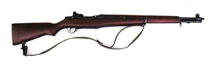 Un fusil M1 Garand fabriqué en 1944 et devenu arme de collection. (MITCH BARRIE / FLICKR)