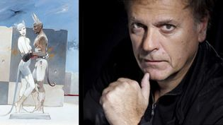 Oxymore Paintings 2012 + Enki Bilal, président du festival du film de Gérardmer (janvier 2012)  (P. Sautier/SIPA (Portrait))