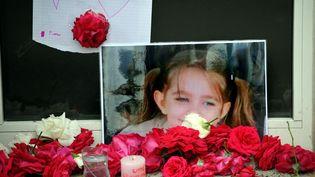 Une photo de Fiona, la fillette portée disparue depuis 4 mois, le 29 septembre 2013 à Clermont-Ferrand (Puy-de-Dôme). ( MAXPPP)