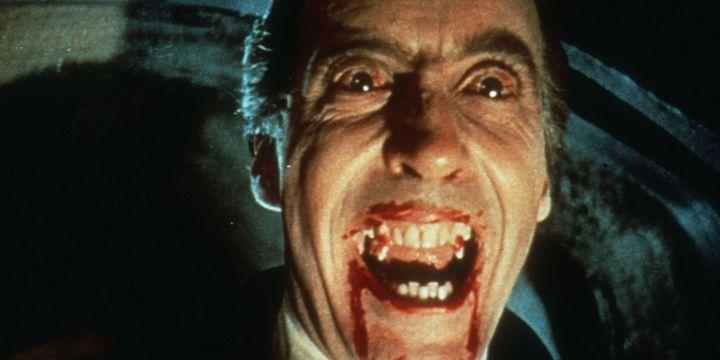"""Christopher Lee dans """"Le Cauchemar de Dracula"""" (1958) de Terrence Fisher  (PHOTO12.COM - COLLECTION CINEMA / PHOTO12)"""
