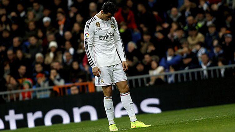 Le Portugais Cristiano Ronaldo lors d'un match face à la Corogne, le 14 février 2015. (DPI / NURPHOTO)