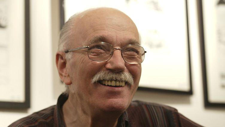 Le dessinateur William Vance,ci-contre en octobre 2015, est décédé le 14 mai 2018, à l'âge de 82 ans. (MAXPPP)