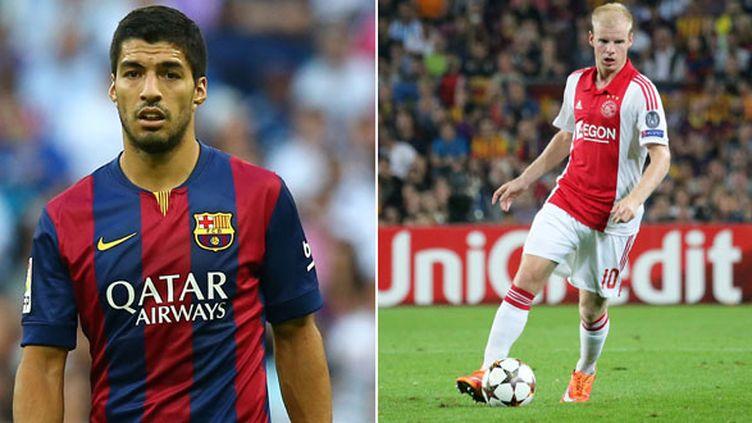 Luis Suarez, un ancien de l'Ajax, va retrouver son ancien club où s'est imposé le jeune Davy Klaassen