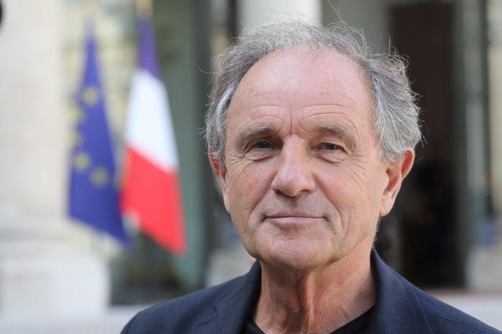Jean-Paul Hamon, président de la Fédération des médecins de France, le 18 septembre 2018, à l'Elysée, à Paris. (LUDOVIC MARIN / AFP)