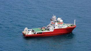"""Le """"Fugro Equator"""", de la société néerlandaise Fugro, a participé aux recherches sous-marines du vol MH370, dans l'océan indien. (FUGRO)"""