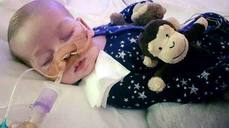 Le petit Charlie Gard est atteint d'une maladie rare du cerveau. (AP / SIPA)