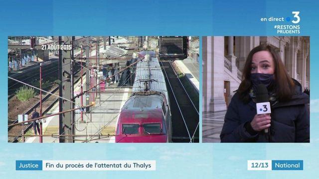 Justice : fin du procès de l'attentat du Thalys