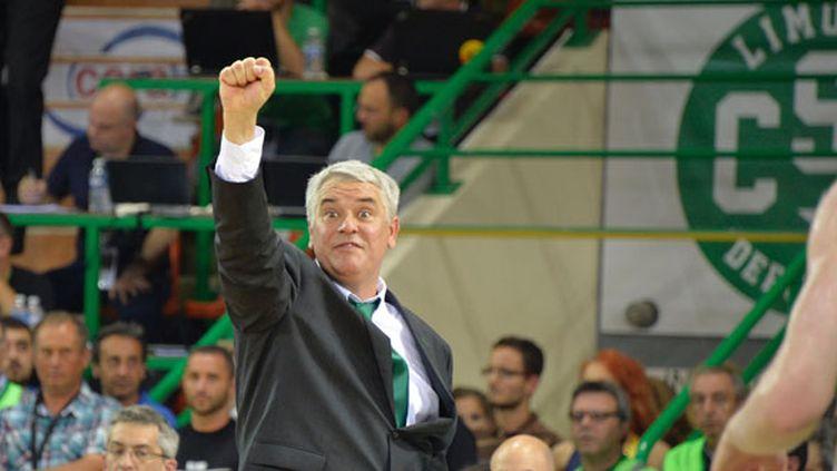L'entraîneur du CSP Limoges, Philippe Hervé