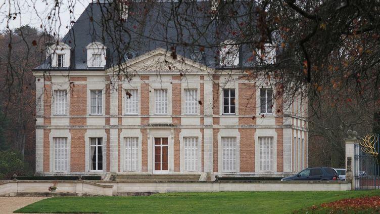 Vue du château de Valéry Giscard d'Estaing à Authon, dans le Loir-et-Cher, le 3 décembre 2020. (GUILLAUME SOUVANT / AFP)