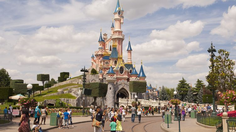 Le parc d'attractions Disneyland Paris, situé à Chessy (Seine-et-Marne). (MAXPPP)