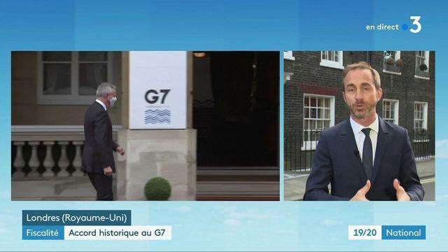 Sommet du G7 : un accord historique sur une réforme de la fiscalité mondiale