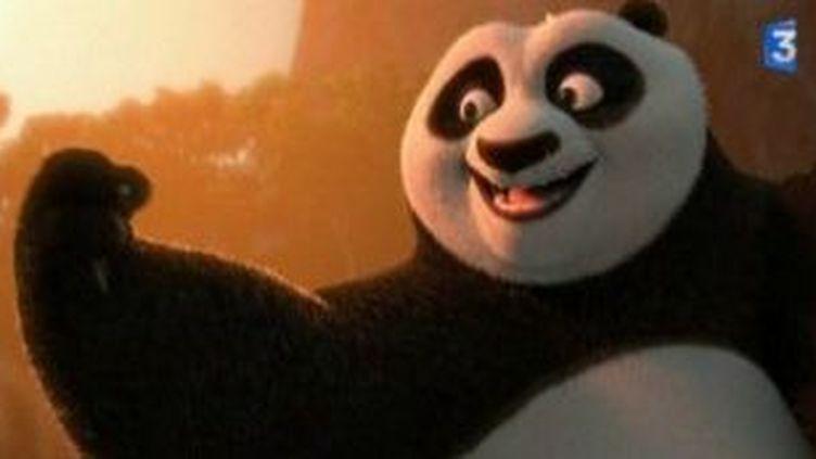 Angélina Jolie, Dunstin Hoffman et Jack Black à Cannes avec Kung Fu Panda II  (Culturebox)