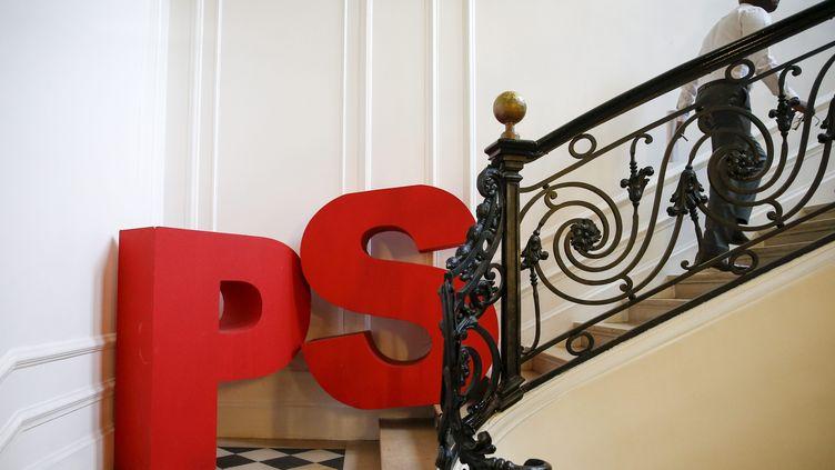 Le siège du Parti socialiste au siège de Solférino à Paris le 10 janvier 2018. (MAXPPP)